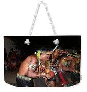 Fulnio Indians Of Brazil  Weekender Tote Bag