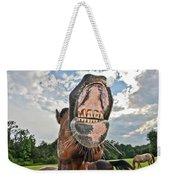 Funny Horse Weekender Tote Bag