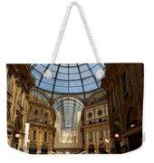 Galleria Vittorio Emanuele. Milano Milan Weekender Tote Bag