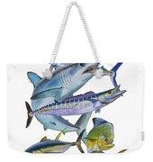 Gamefish Collage Weekender Tote Bag