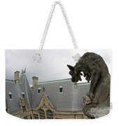 Gargoyles On Roof Of Biltmore Estate Weekender Tote Bag