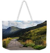 Gates. Rest And Be Thankful. Scotland Weekender Tote Bag