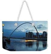 Gateshead Millennium Bridge Weekender Tote Bag
