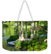 Gazebo By Lake Weekender Tote Bag
