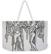 Gemini An Illustration Weekender Tote Bag