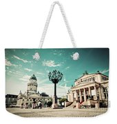 Gendarmenmarkt In Berlin Germany Weekender Tote Bag