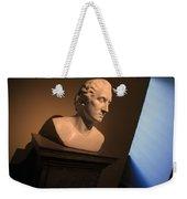 George Washington Dark Blue -- Horatio Greenough Weekender Tote Bag