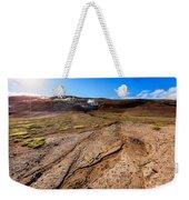 Geothermal Field Weekender Tote Bag