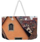 German Rooftops Impasto Weekender Tote Bag