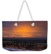 German Sunrise Weekender Tote Bag