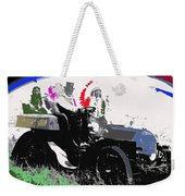 Geronimo At The Wheel 1904 Locomobile Model C Touring Car On The 101 Ranch In Oklahoma 1905 Weekender Tote Bag