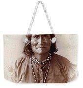Geronimo Native American Chief Weekender Tote Bag