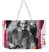 Geronimo With Pistol Ft. Sill Oklahoma Collage Circa 1910-2012 Weekender Tote Bag