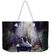 Girl In Abandoned Room Weekender Tote Bag