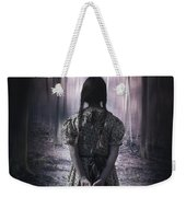 Girl In The Woods Weekender Tote Bag