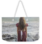 Girl On Beach Weekender Tote Bag