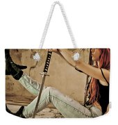 Girl Power Weekender Tote Bag