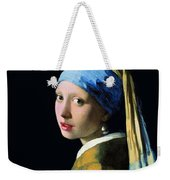 Girl With A Pearl Earring Weekender Tote Bag
