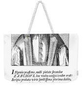 Girolamo Zanchi (1516-1590) Weekender Tote Bag