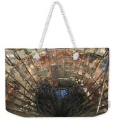 Glass Spiral Weekender Tote Bag