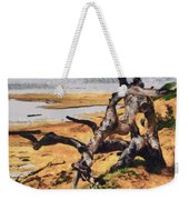 Gnarly Tree Weekender Tote Bag by Barbara Snyder