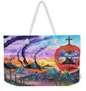 God Of A Thousand Faces Weekender Tote Bag
