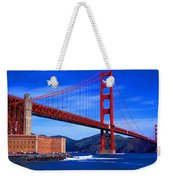 Golden Gate Bridge Panoramic View Weekender Tote Bag