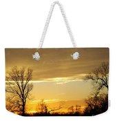 Golden Sunset 61 Weekender Tote Bag