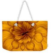 Golden Sunshine - Dahlia Weekender Tote Bag
