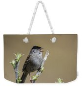 Goldencrowned Sparrow Weekender Tote Bag
