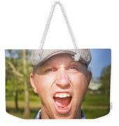 Golf Four And Out Cold Weekender Tote Bag