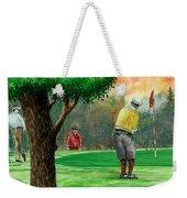 Golf Outing Weekender Tote Bag