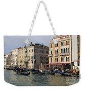 Gondolas In The Grand Canal Weekender Tote Bag