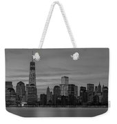 Good Morning New York City Weekender Tote Bag