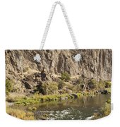 Goose Rock Above John Day River Oregon Weekender Tote Bag