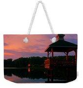 Gorton Pond Sunset Warwick Rhode Island Weekender Tote Bag