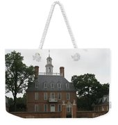Governers Palace Colonial Williamsburg Weekender Tote Bag