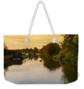 Grand Union Canal In Berkhampsted Weekender Tote Bag