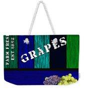 Grape Farm Weekender Tote Bag