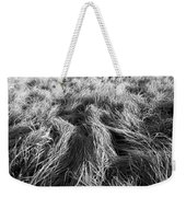 Grass In Black And White Weekender Tote Bag