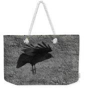 Gray Weekender Tote Bag