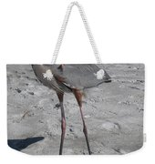 Great Blue Heron On The Beach Weekender Tote Bag