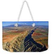 Great Canyon River Gor In Spain Weekender Tote Bag