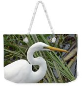 Great Egret Close Up Weekender Tote Bag