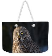 Great Gray Owl Pictures 789 Weekender Tote Bag