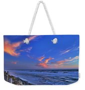 Great Highway Sunset Weekender Tote Bag