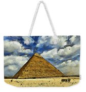 Great Pyramid Of Egypt Weekender Tote Bag