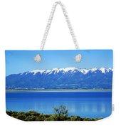 Great Salt Lake Weekender Tote Bag