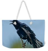 Great-tailed Grackle Weekender Tote Bag