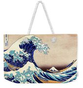 Great Wave Off Kanagawa Weekender Tote Bag